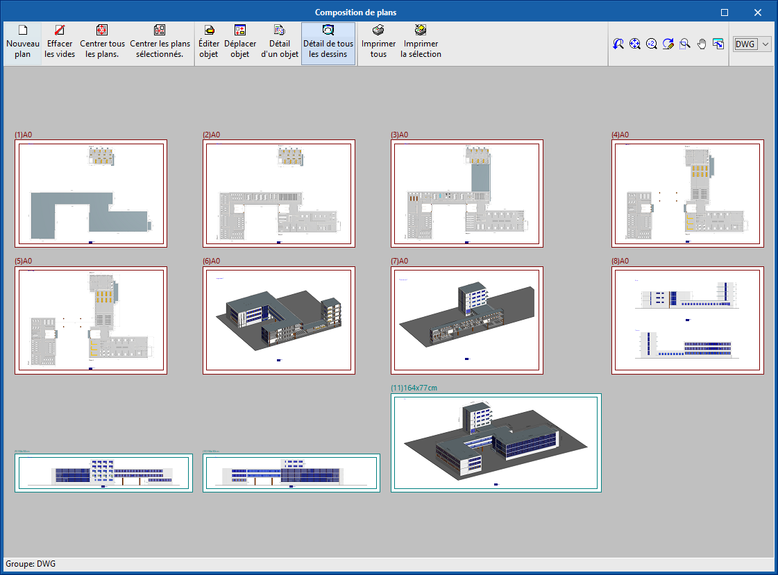 Open BIM Layout